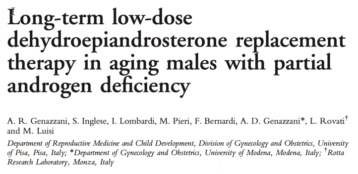 Increase testosterone and maintain it