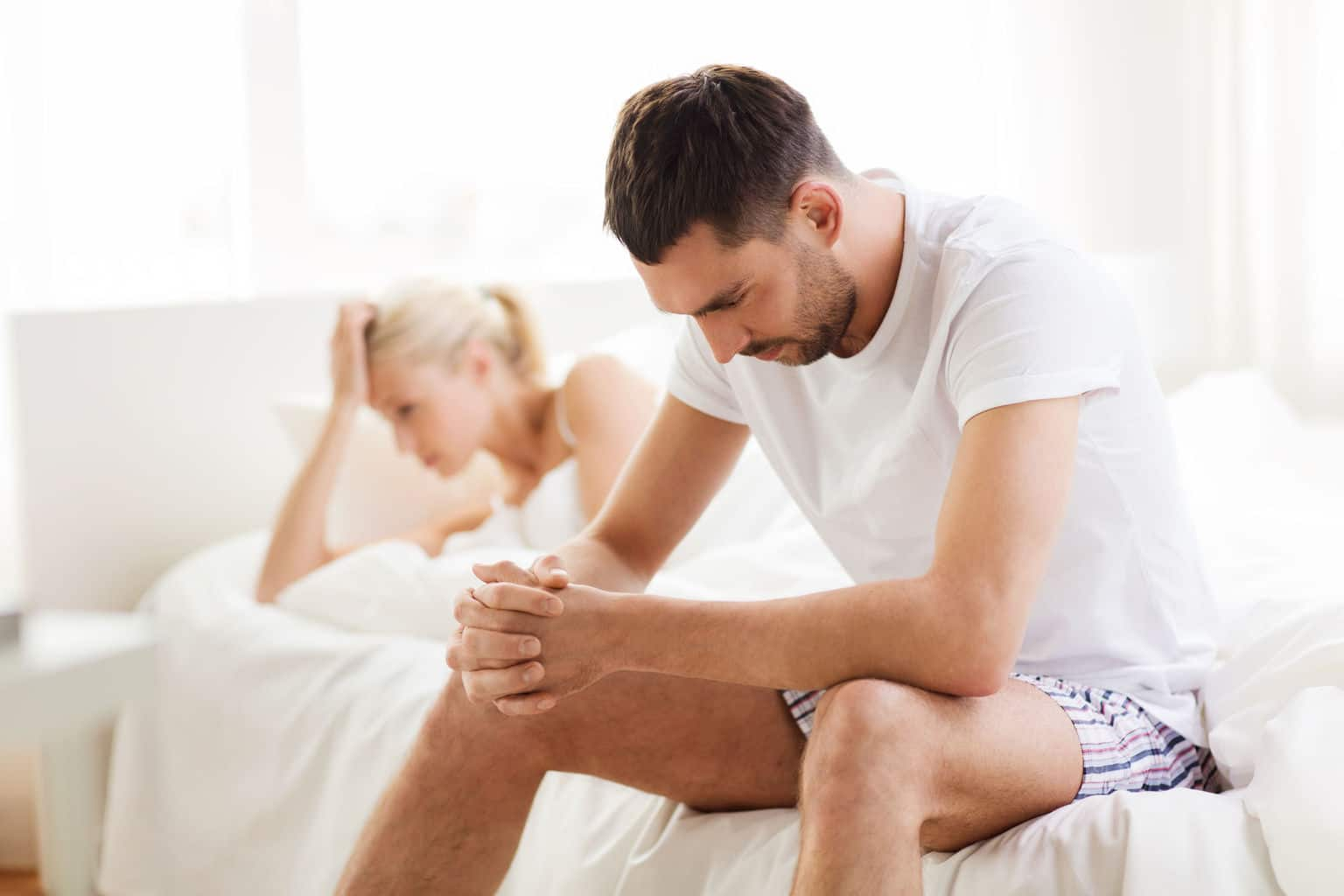 What causes penile fibrosis?