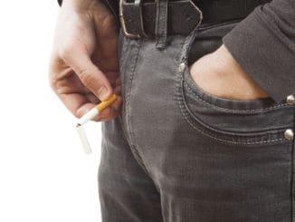 Smoking increases testosterone by 17% in healthy men