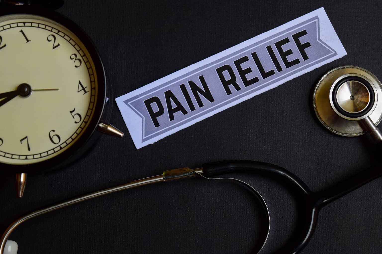 Long term pain relief solution