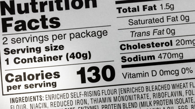 Check Your Food Labels for This Toxic Chemical