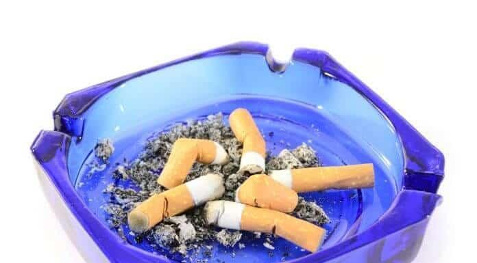 Smoking raises testosterone and lowers estrogen