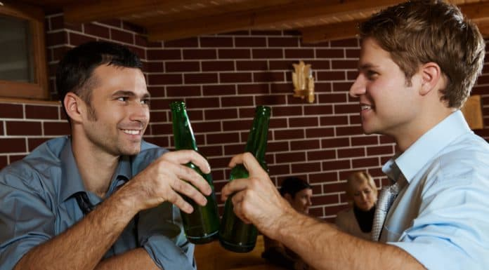 Alcohol lowers testosterone, even one or two drinks a day