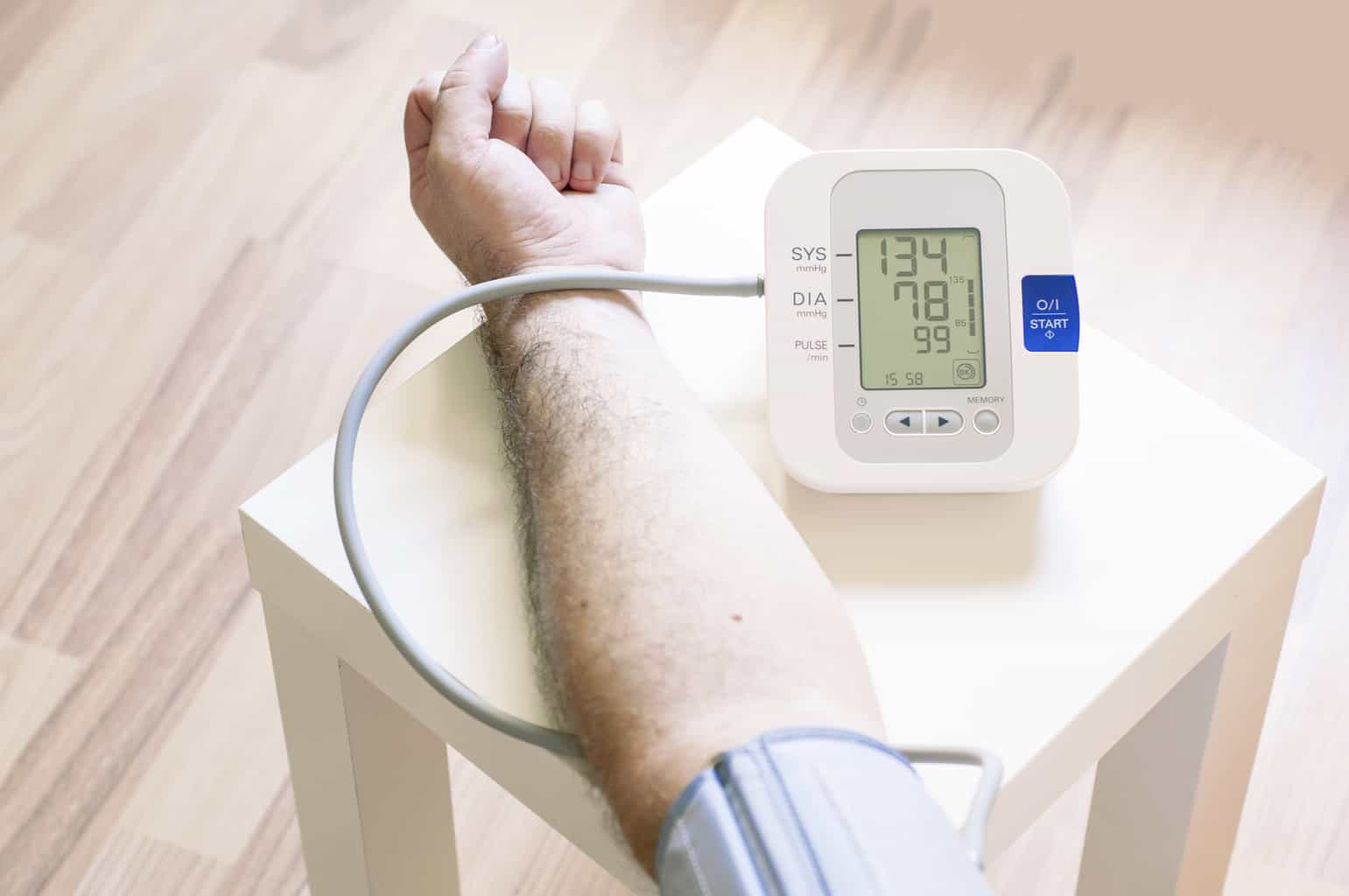 What's normal blood pressure according to your age?