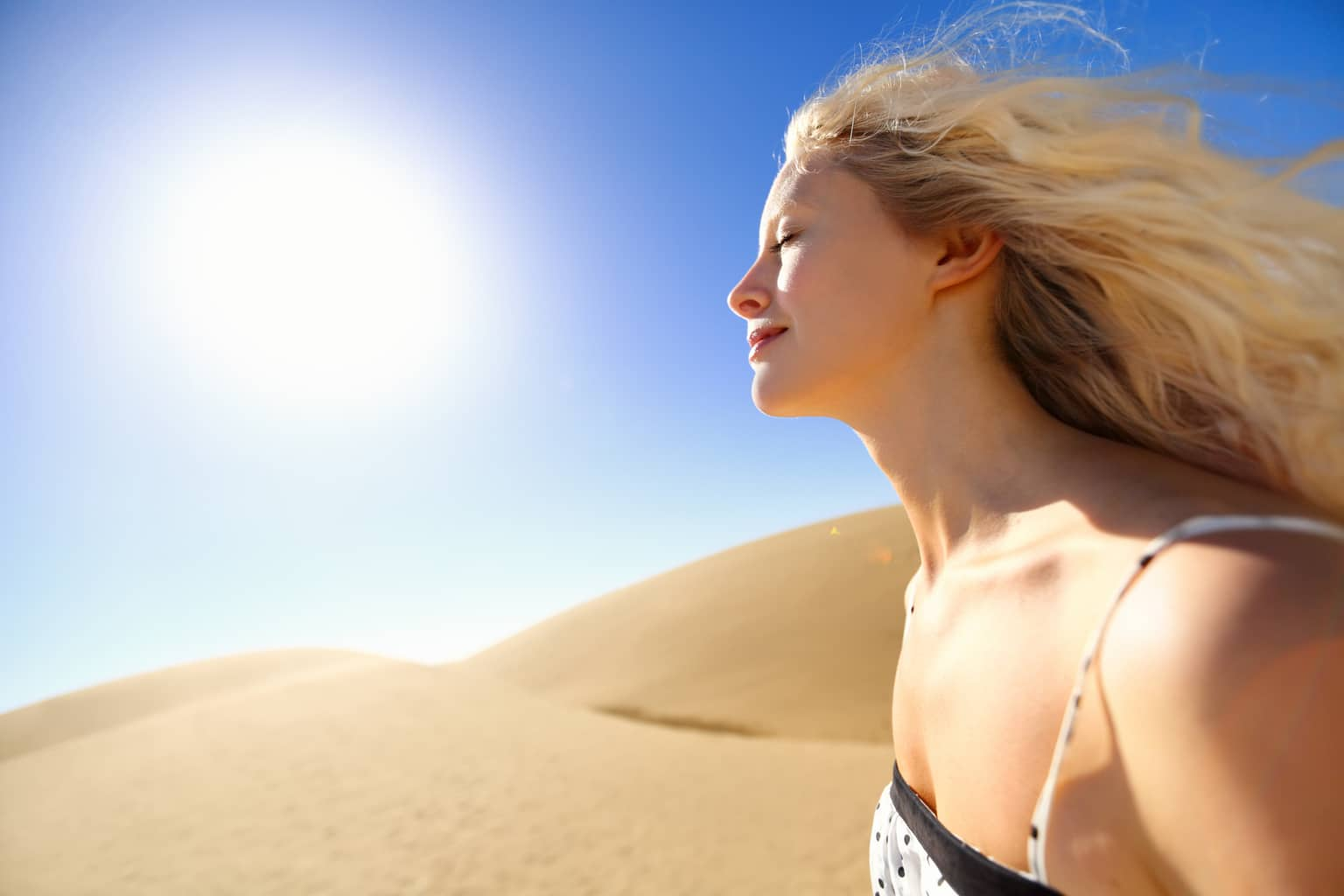 Can a common vitamin prevent sun damage?