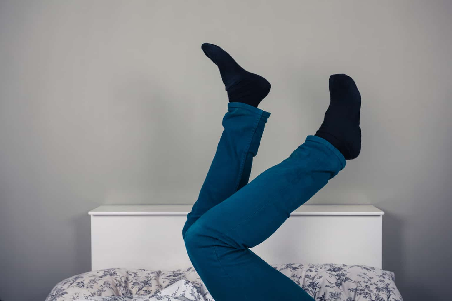 Restless leg syndrome caused by high estrogen and cortisol levels