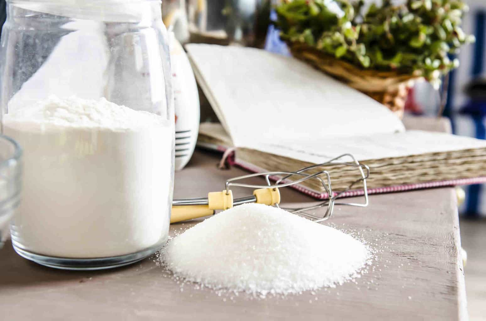 Proof that white sugar and white flour are healthier for you