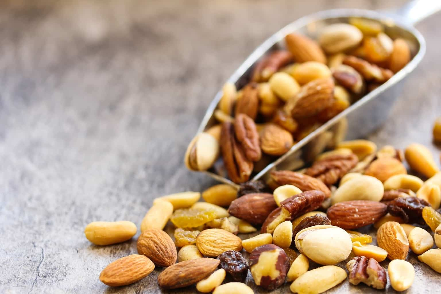 Eating nuts won't make you healthier