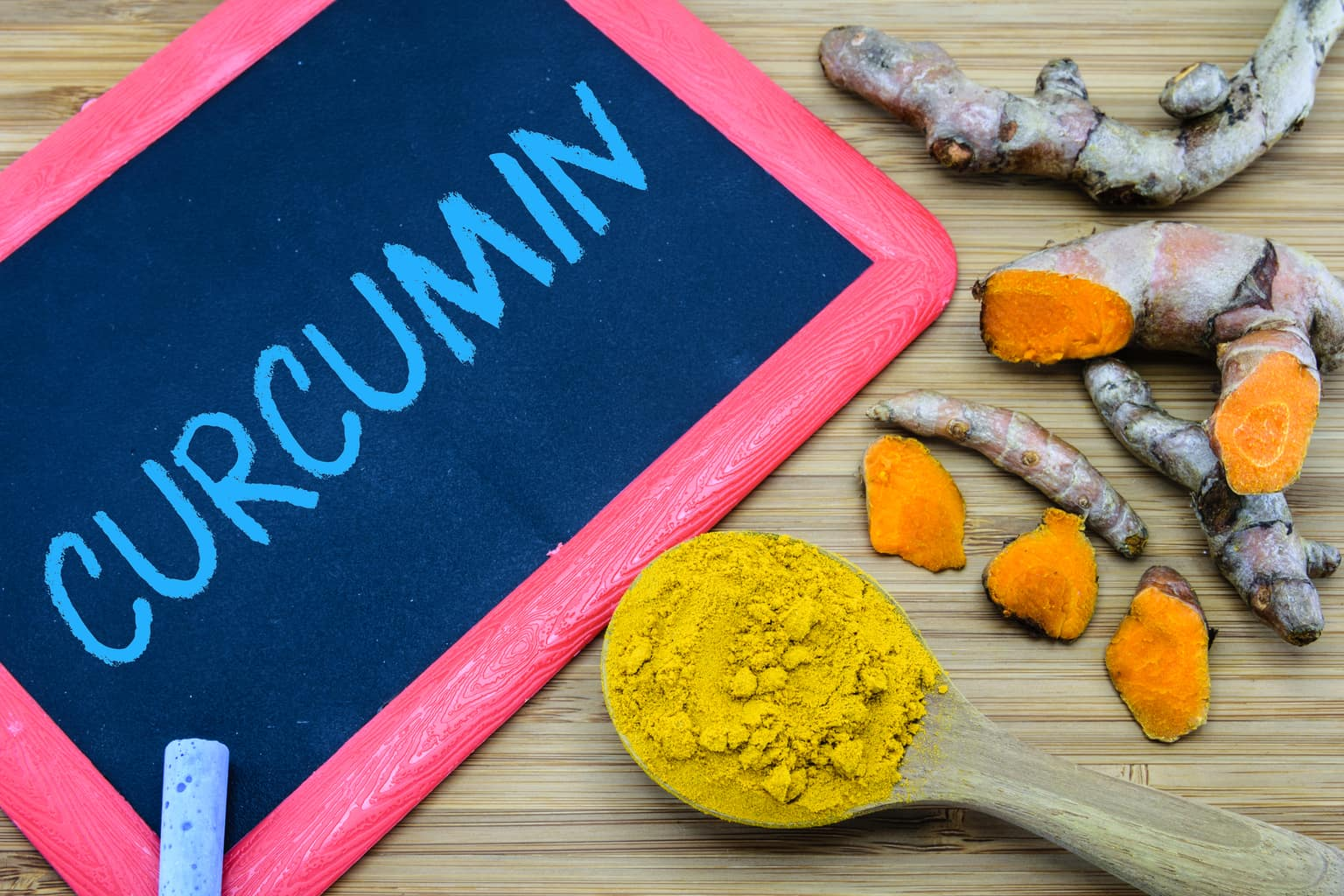 Curcumin lowers estrogen and lowers inflammation