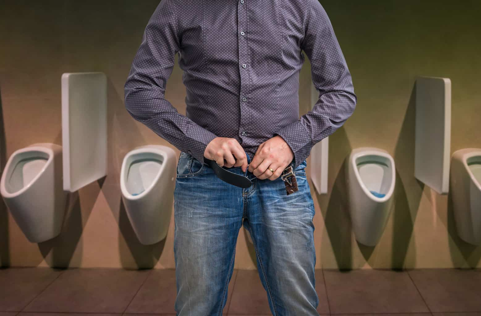 Prostate health and peeing - new research