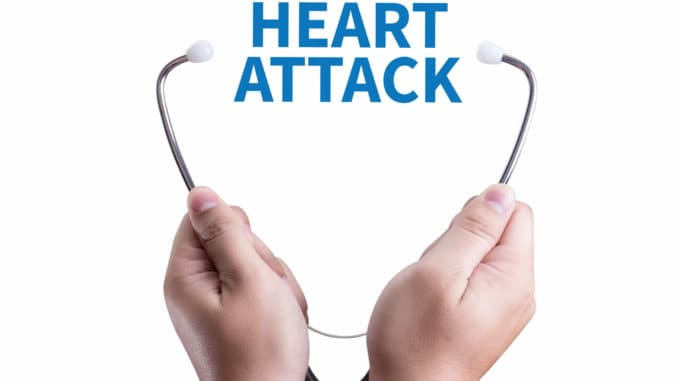 Signs you are having a heart attack