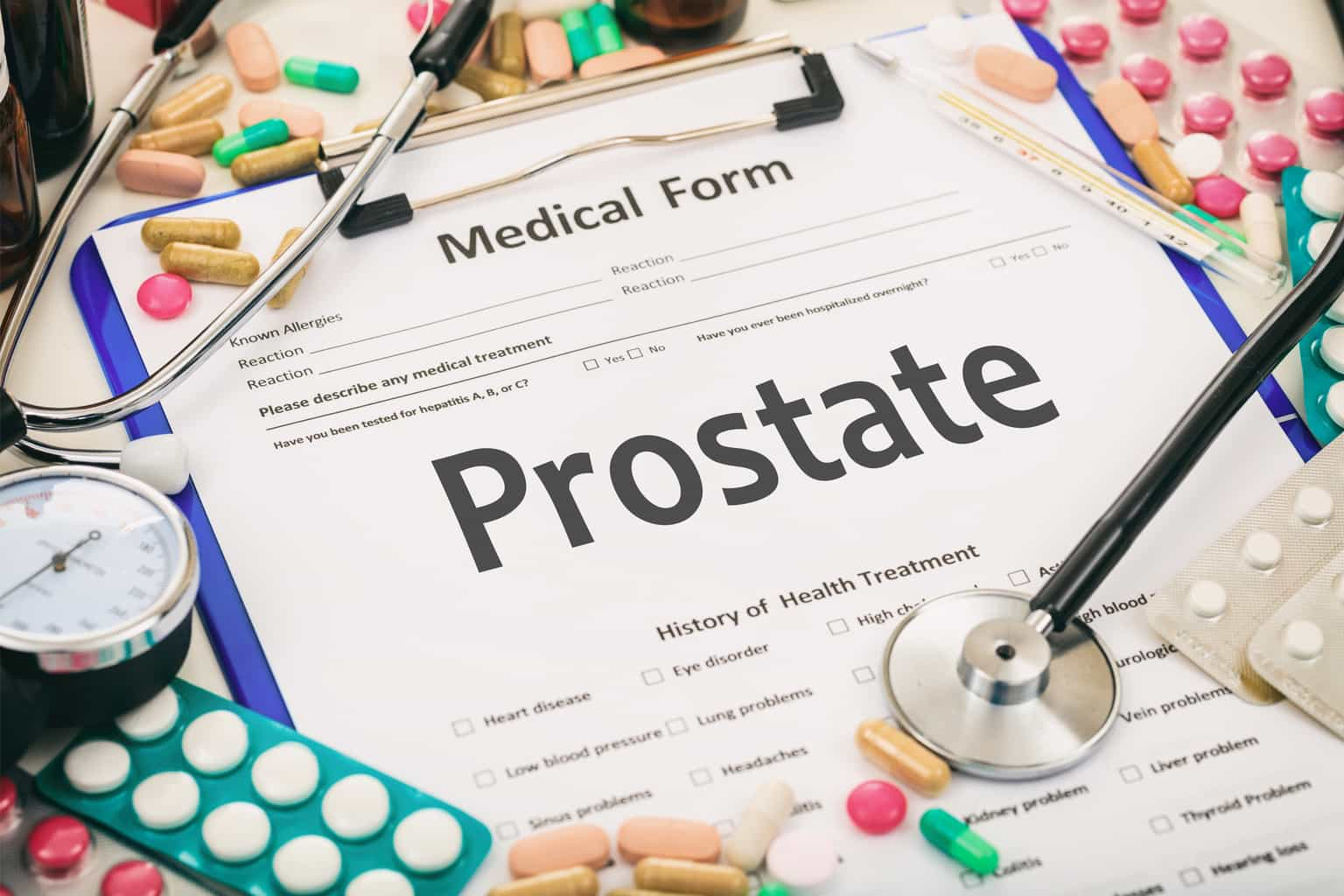 New study shows dangers of prostate medications