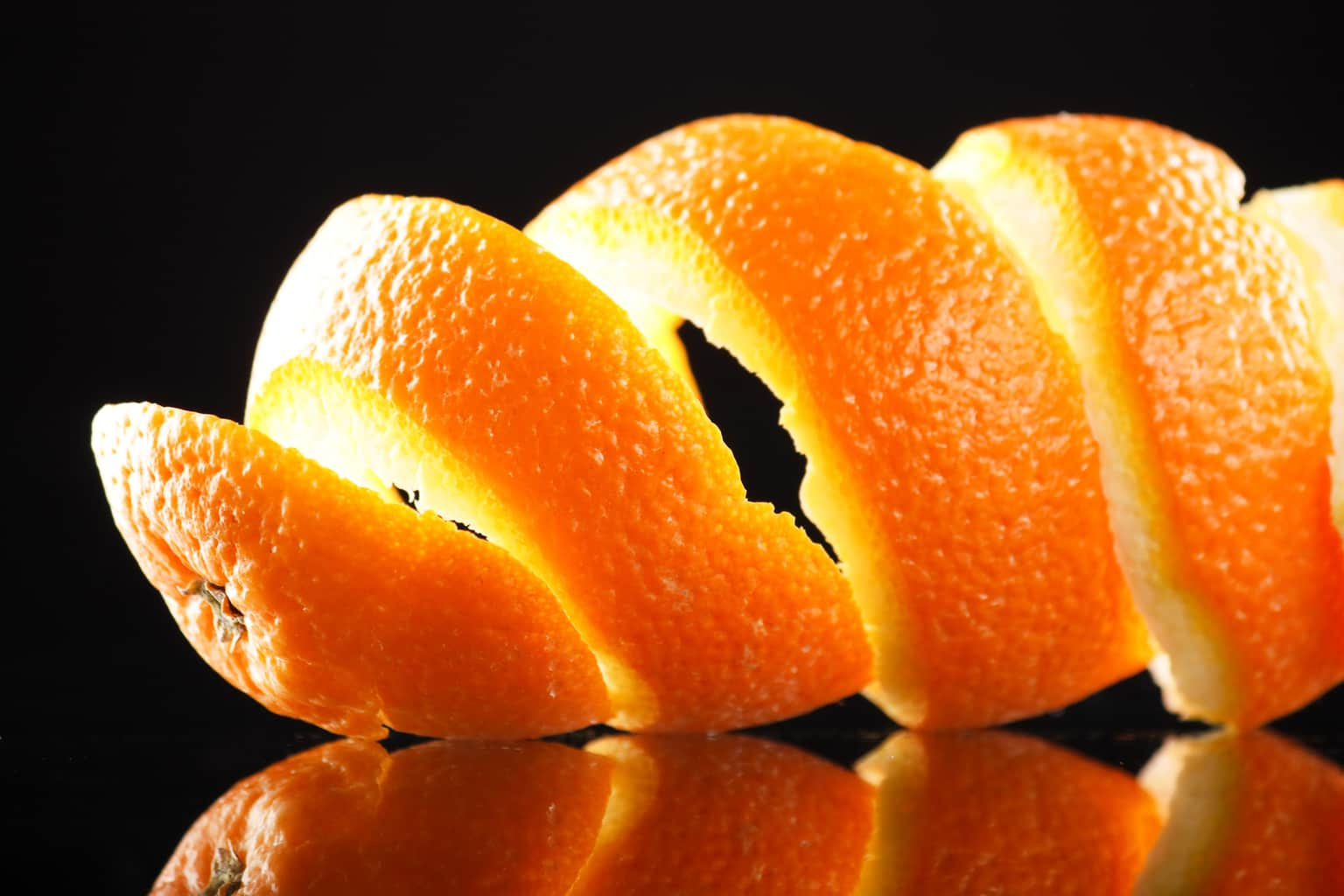 Orange peel can help reduce colon cancers?