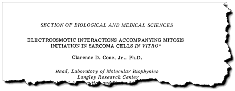 Electroosmotic interactions accompanying mitosis initiation in sarcoma cells in vitro.