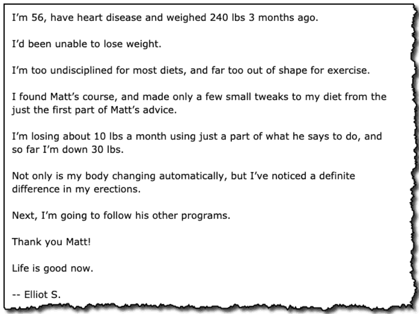 Daily Medical Discoveries Testimonial