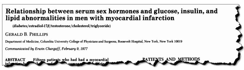 Relationship between serum sex hormones and glucose, insulin and lipid abnormalities in men with myocardial infarction