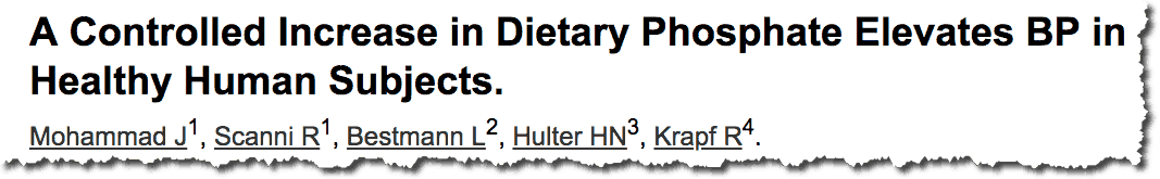 dietary phosphate