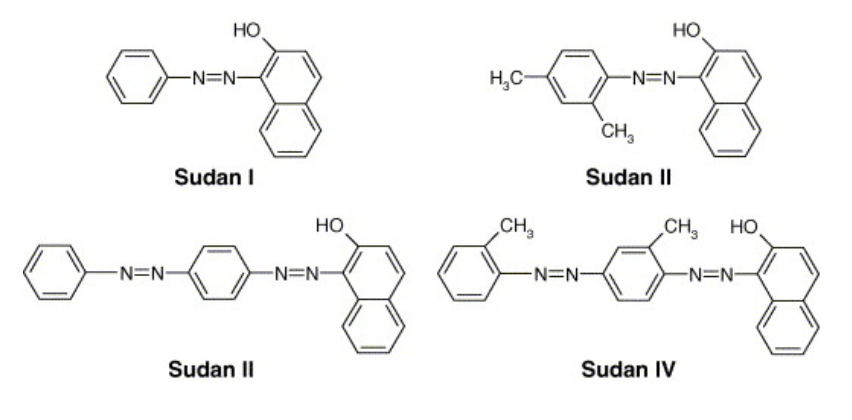 Sudan Red Dyes
